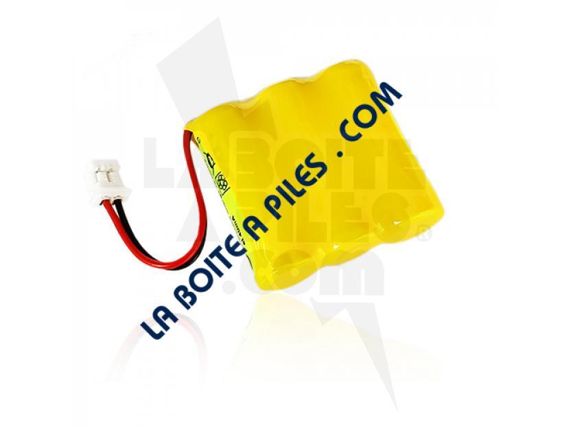 BATTERIE NIMH 3.6V POUR TÉLÉPHONE SANS FIL BINATONE - SANIK 3SN2/3AAA30HSJ1- 3SN2/3AAA30HSJP1 img.jpg