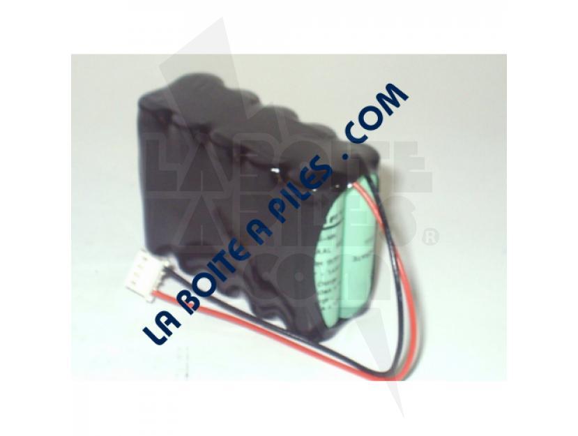 BATTERIE SAFT NIMH 12V / 1.5AH GAINÉE AVEC CONNECTEUR img.jpg
