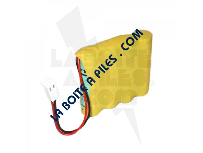 BATTERIE NIMH 4.8V POUR ELECTROSTIMULATEUR CEFAR ACTIV X4 / REHAB X4 img.jpg