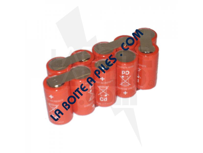 BATTERIE NICD 12V POUR OUTILS TAILLE HAIE GARDENA ACCU-SYSTEM V12 / AP12 / 02110-00.610.00 img.jpg