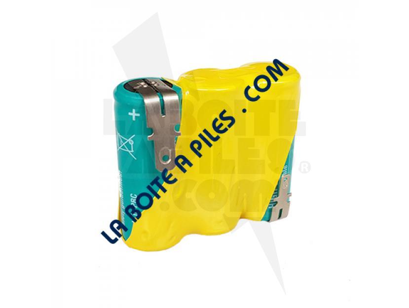 BATTERIE NIMH 3.6V POUR COUPE BORDURE CISAILLE WOLF SP 45 ACCU 45 / 7084055 / SAFT 801537 3VSE4/5A img.jpg
