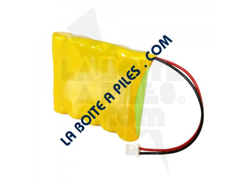 BATTERIE NIMH 6V / 0.7AH POUR INTERPHONE EXTEL 0681 img.jpg