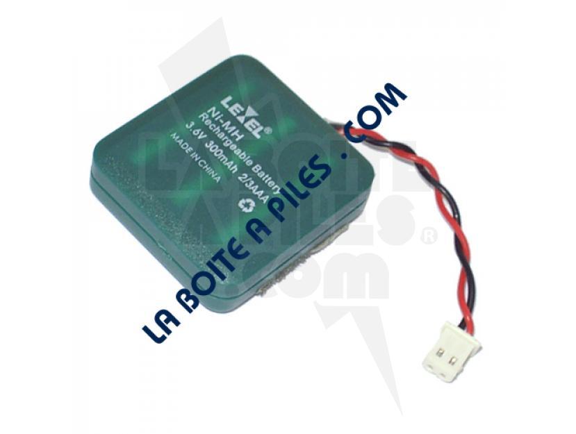 BATTERIE NIMH 3.6V / 400MAH POUR INTERPHONE EXTEL / CARITEL img.jpg