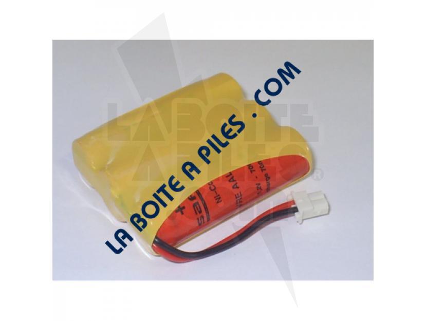 BATTERIE NICD 3.6V / 0.7AH POUR TÉLÉPHONE SANS FIL ET TPE SAGEM img.jpg