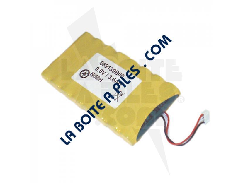 BATTERIE NIMH 9.6V POUR CONTROLEUR ÉLECTRIQUE FONDIS CHAUVIN ARNOUX - 689139B00 - 4/3AFX8 - RC3800A08AG img.jpg