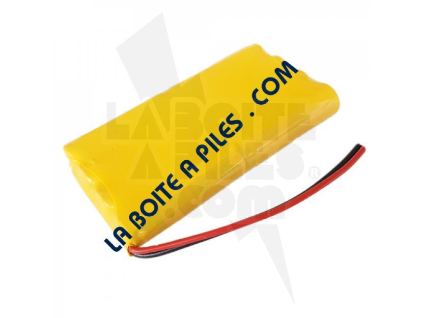 BATTERIE 9.6V POUR MOTORISATION DE PORTE SOMFY 9001001 - M3 9.6V HR15/51 - 5008956 img.jpg