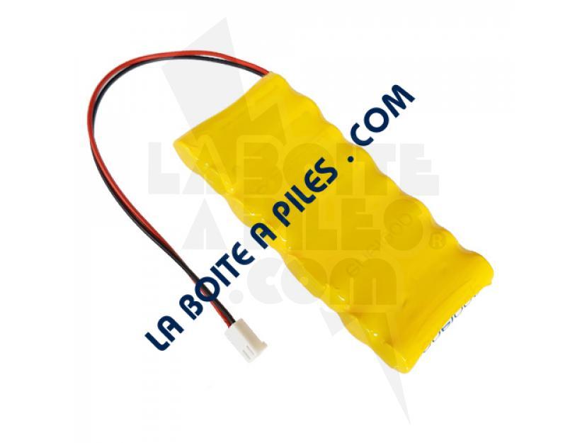 BATTERIE NIMH 9.6V POUR ELECTROSTIMULATEUR CEFAR PHYSIO 4 / MYO 2 img.jpg