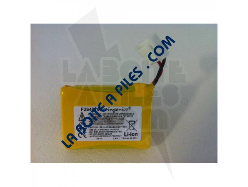 BATTERIE LI-ION 3.6V / 3.12AH POUR TPE INGENICO F26401652 img.jpg