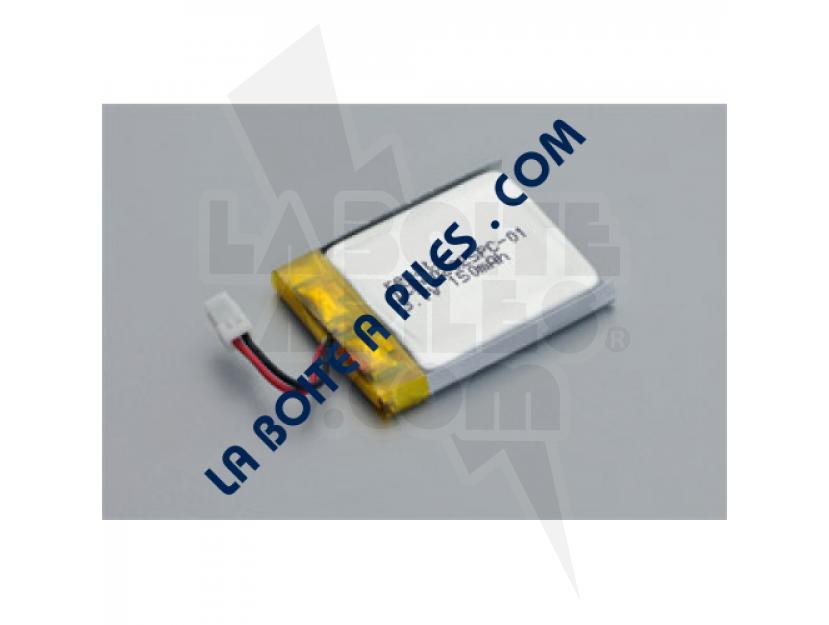 BATTERIE LI-ION POLYMER 3.7V / 150MAH 402025 AVEC CONNECTEUR img.jpg