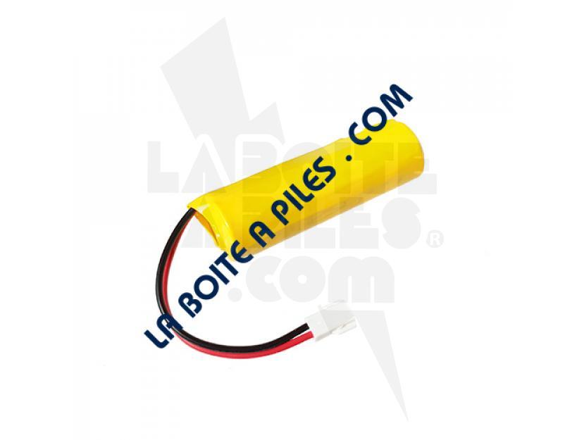 BATTERIE NIMH 1.2V POUR TÉLÉPHONE ALCATEL LUCENT 3GV27059AB / 4068 IP TOUCH / SAFT 1 VH AA 1500 / 802635 img.jpg
