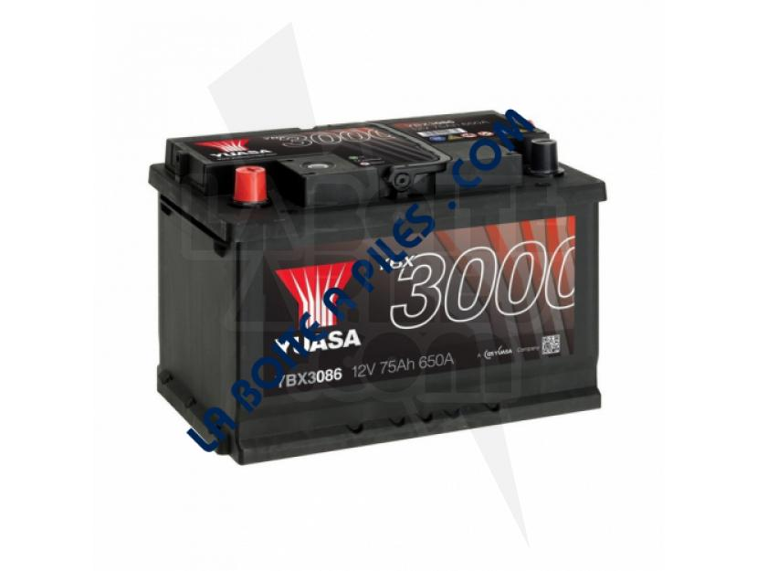 BATTERIE VOITURE YBX3086 12V 75AH 650A YUASA  (+G) img.jpg