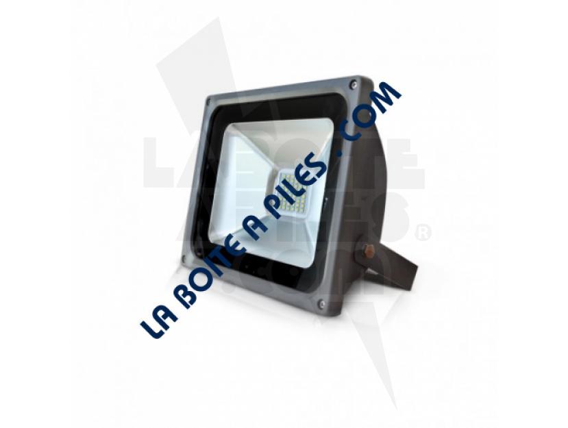 PROJECTEUR EXTERIEUR LED PLAT GRIS 30W 6000°K img.jpg
