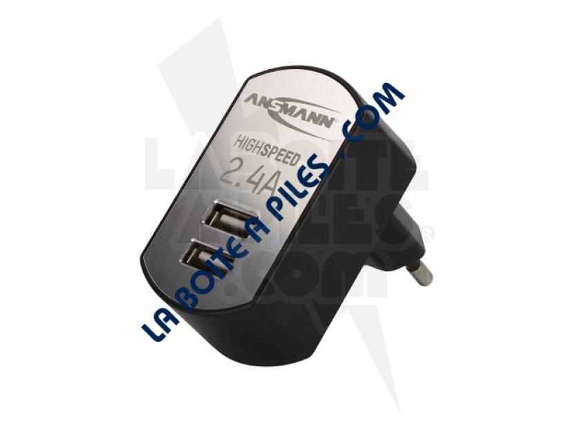 ADAPTATEUR SECTEUR - USB ANSMANN  img.jpg