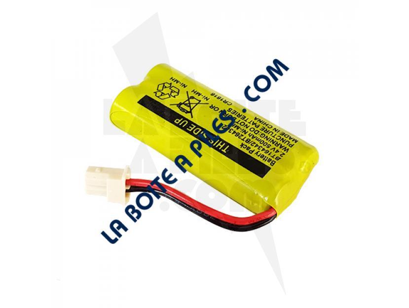 BATTERIE NIMH 2.4V POUR TÉLÉPHONE SANS FILS TELSTRA VTECH - BT164342/BT264342 img.jpg