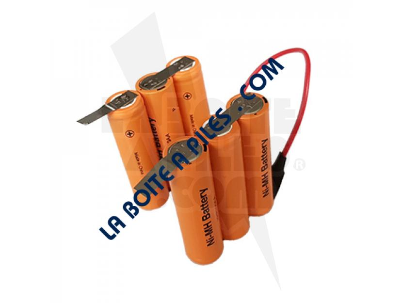 140033277033 Batteries 7.2v aspirateur à main Rapido