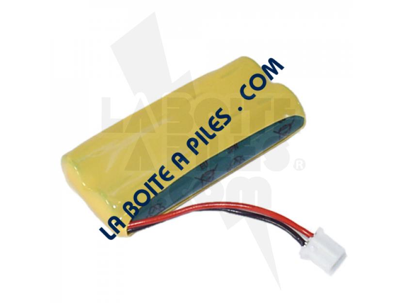 BATTERIE NIMH 2.4V POUR TÉLÉPHONE SANS FIL SIEMENS GIGASET - V30145-K1310-X383 / V30145-K1310-X359 / A5B00075178739 / A5B00075495685 img.jpg