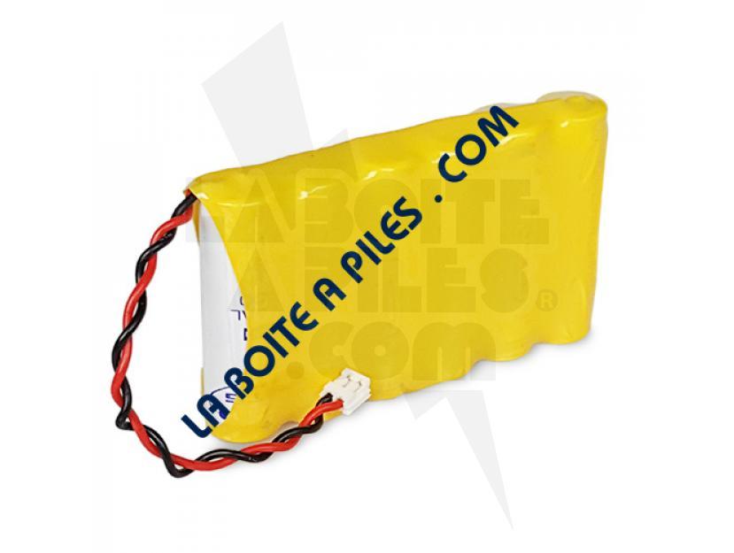 BATTERIE NIMH 7.2V / 1.8AH POUR ÉLÉCTROSTIMULATEUR COMPEX 941100 - 941000 - 032002690 img.jpg