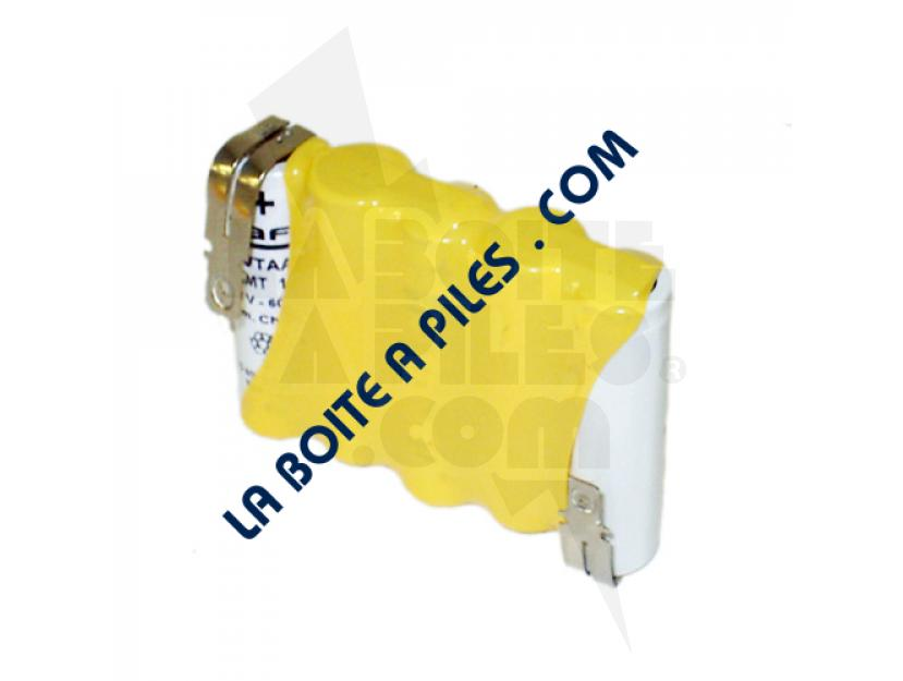 BATTERIE NICD 6V / 0.8AH POUR ALARME - 5 VTAA SAFT 803982 / 805696D / URA 386002 img.jpg
